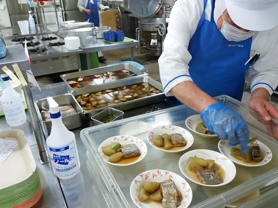 株式会社マルワ せんぽ瓜破東内の厨房の画像