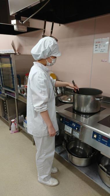 名阪食品株式会社 東所沢たんぽぽこども園内の厨房の画像