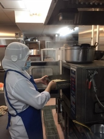 名古屋マルタマフーズ株式会社 さわやかはままつ館内の厨房の画像