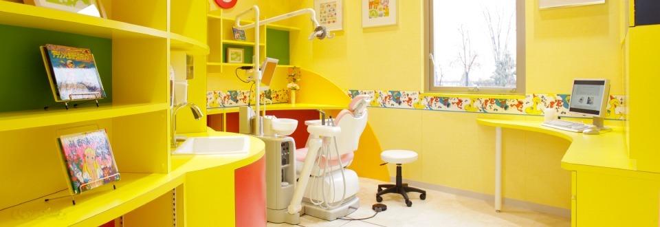 わかば台デンタルクリニック・歯科訪問診療(歯科医師の求人)の写真13枚目:お子様向けのキッズ個室も完備!