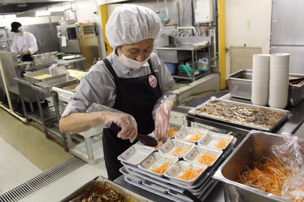 日本ゼネラルフード 抱生会丸の内病院内の厨房の画像