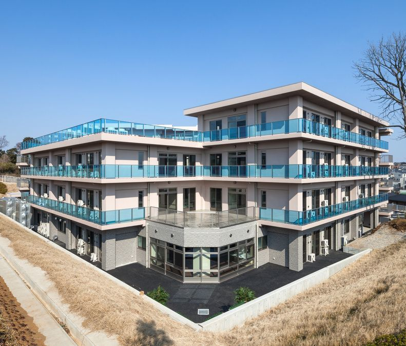 特別養護老人ホーム親愛の丘(ケアマネジャーの求人)の写真:2015年4月にオープンした施設です