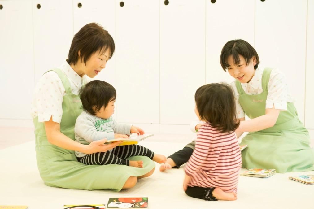 虎ノ門保育園(ファーストリテイリング事業所内保育所)の写真1枚目:少人数保育でお子さまにじっくり、密に関われます♪