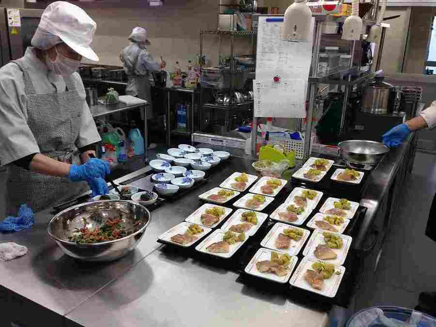 株式会社ホームラン・システムズ 背振学園内の厨房の画像
