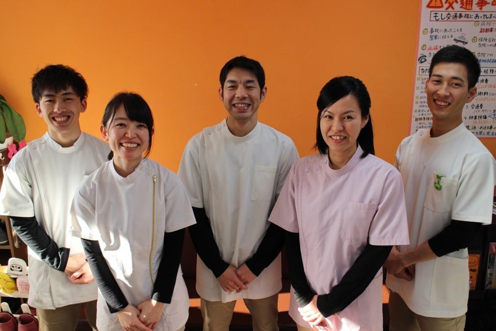 吉川美南オレンジ整骨院(柔道整復師の求人)の写真1枚目:ご応募お待ちしております。