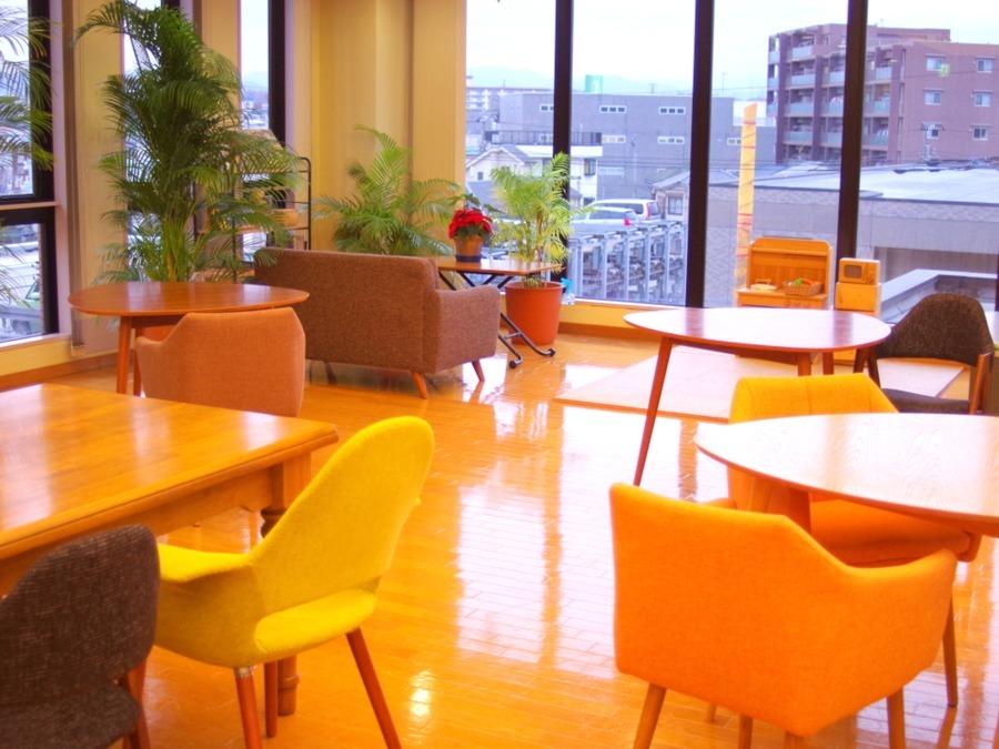 北原国際病院(看護助手の求人)の写真:患者様「おくつろぎのカフェ」