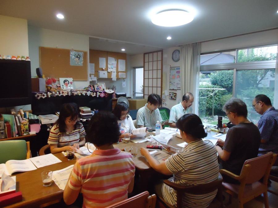 武蔵野ぬくい福祉サービス  ぬくいデイサービス(介護職/ヘルパーの求人)の写真:社内研修会・カンファレンスの様子です