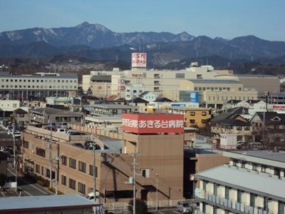 あきる台病院(看護師/准看護師の求人)の写真:あきる野市秋川にある地域密着の療養病院です