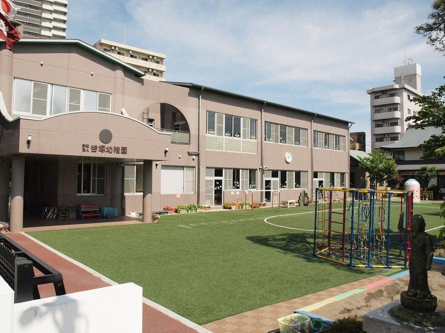 学校法人谷塚幼稚園(幼稚園教諭の求人)の写真:幼稚園外観です