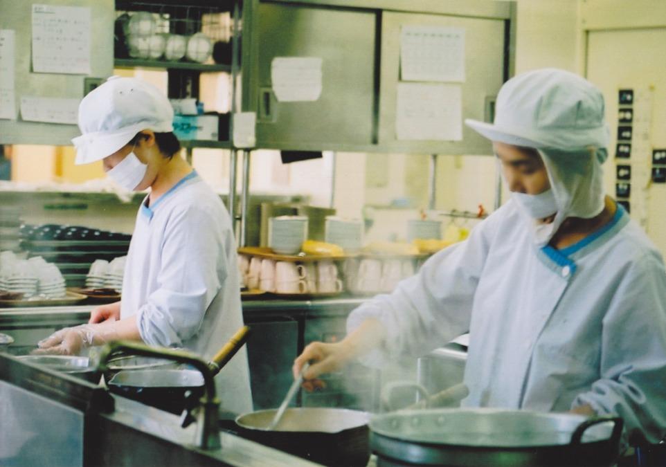 株式会社マルワ 池田病院内の厨房の画像