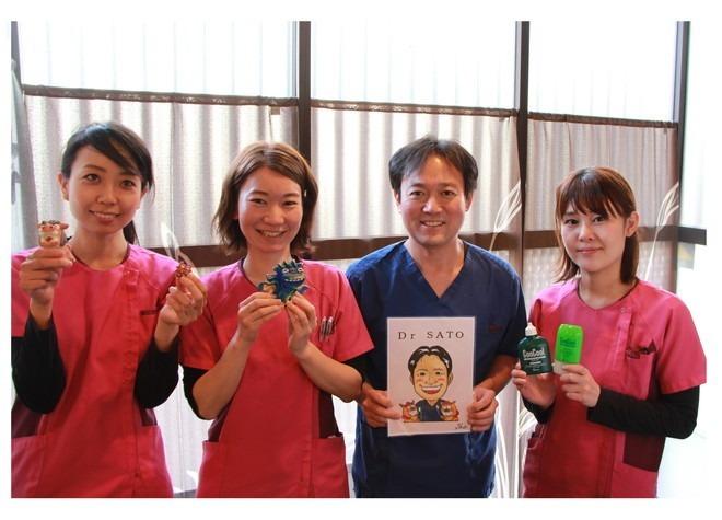 佐藤歯科医院(歯科助手の求人)の写真:Drとスタッフが連携したチーム医療を行っています。
