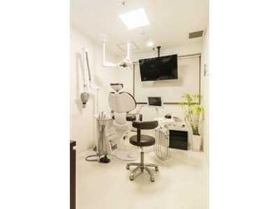 ふるかわ歯科(歯科衛生士の求人)の写真:プライバシーに配慮した個室診療室