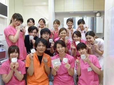 プラザ若葉歯科(歯科技工士の求人)の写真:患者さまだけでなく・スタッフの幸せにも貢献できる場所でありたいと考えています。