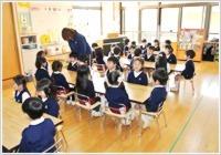 星の光幼稚園(保育士の求人)の写真:集中力・持続力・やる気を育てます