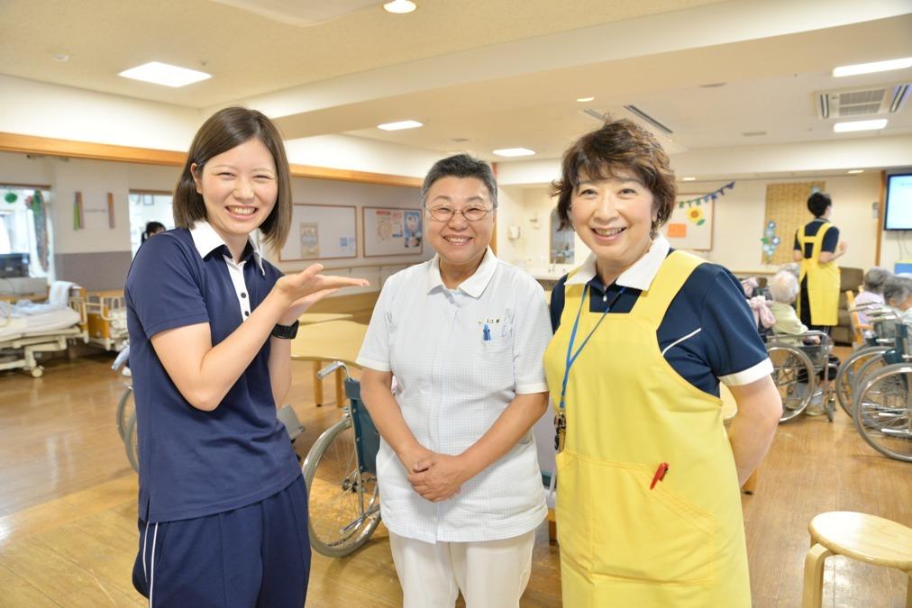 介護老人保健施設能見台パートリア(介護職/ヘルパーの求人)の写真2枚目:老健での多職種連携を楽しく実践しましょう♪