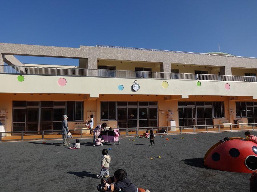 康保会玉淀園(看護師/准看護師の求人)の写真:地域の子どもたちの成長を支えています。