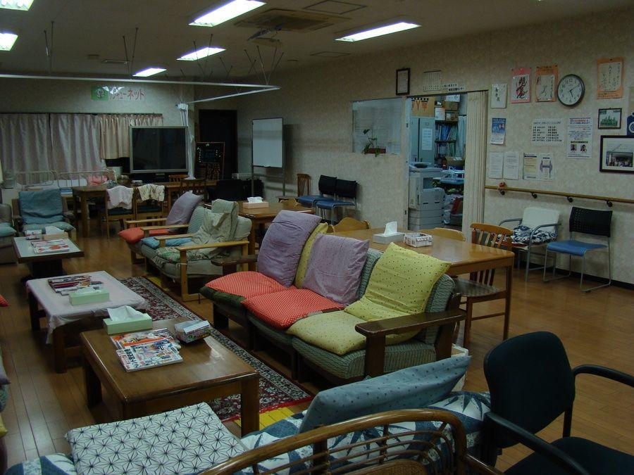 サンキューネットデイサービスセンター(看護師/准看護師の求人)の写真:見通しがよく、仕事しやすい構造のフロア