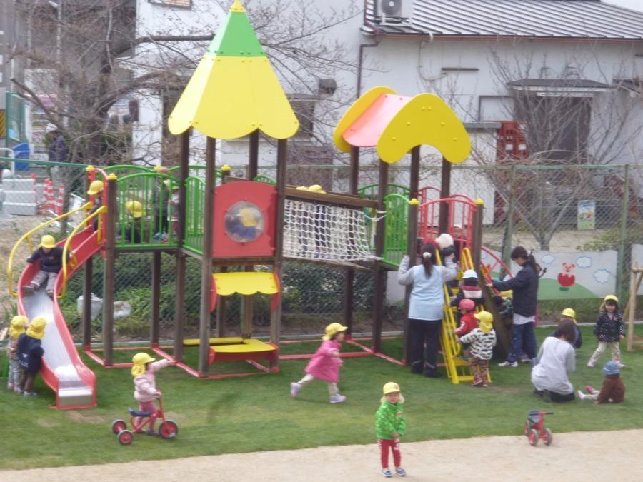 社会福祉法人和修会 にしき認定こども園・小規模保育園Bambi保育園(保育士の求人)の写真2枚目:「心の元気な子どもを育てる」事を基本とした保育を心がけています