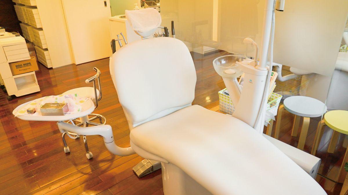 医療法人矯英会 ウイング栗東矯正歯科クリニック(歯科衛生士の求人)の写真4枚目:ぬくもりと清潔感のある治療スペースです!