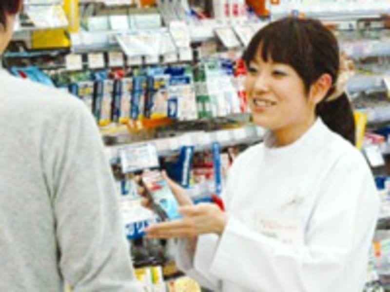 ドラッグトップスとやの店(登録販売者の求人)の写真:若いスタッフが多く、風通しの良い社風です
