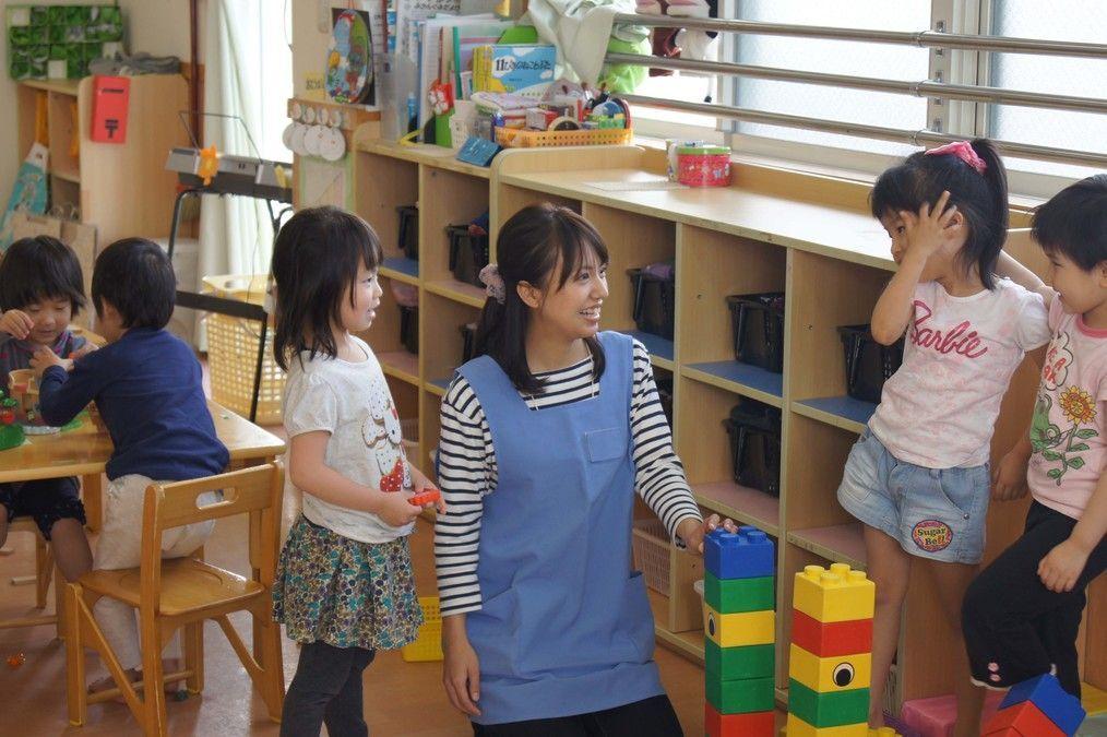 アスクおんたけ保育園(保育士の求人)の写真1枚目:「職員が楽しく働けること」を運営理念に掲げ、より良い施設づくりを行っています