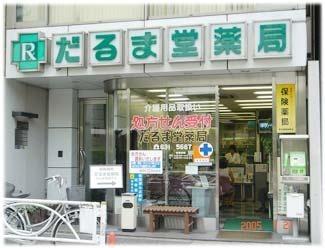 メリファグループ だるま堂薬局の画像