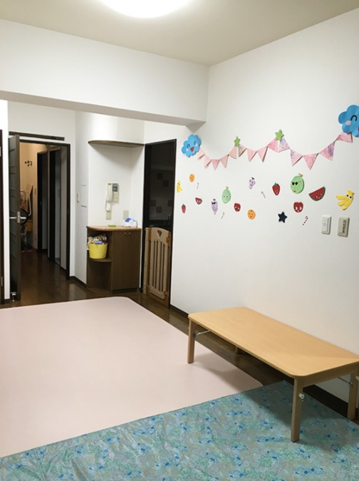 認可小規模保育室あいりす本牧保育室(保育士の求人)の写真2枚目:子どもたちの笑顔があふれる職場で働きませんか?