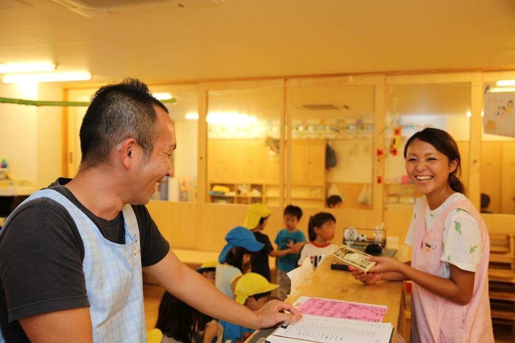 グローバルキッズ千早園(看護師/准看護師の求人)の写真4枚目:みんなでたすけあう。チーム保育を大切にしています