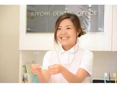 きよみ歯科(歯科衛生士の求人)の写真7枚目:笑顔・気遣い・優しさで対応