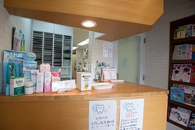 長崎歯科医院(歯科助手の求人)の写真:受付