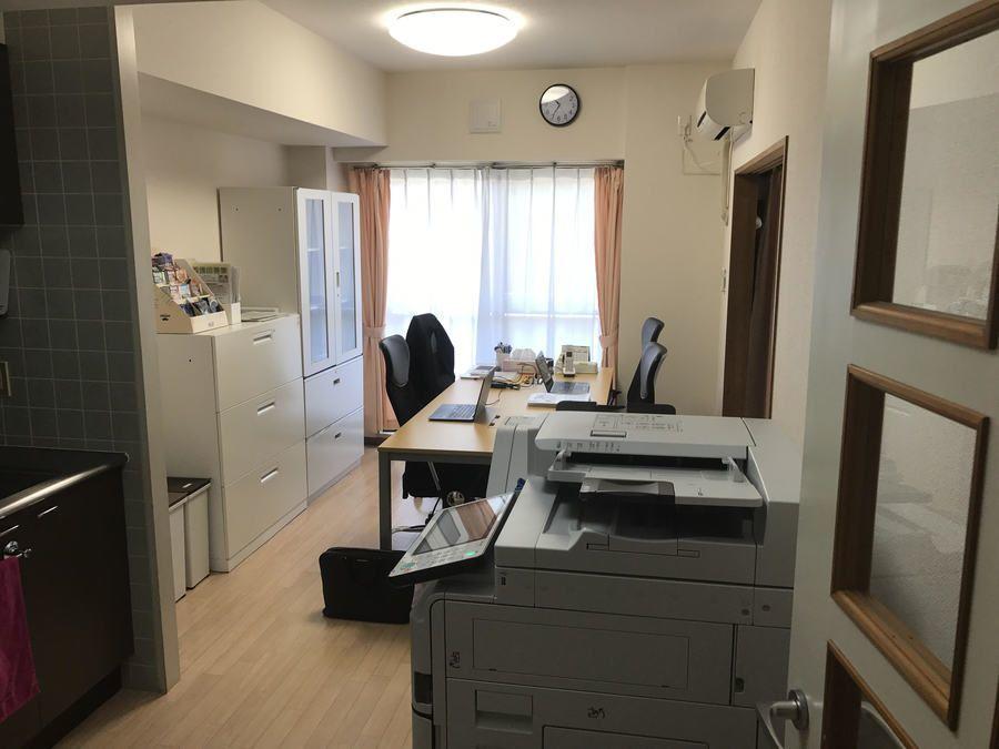ライフサポート訪問看護リハビリステーション菊名(看護師/准看護師の求人)の写真6枚目:ステーション内の写真です。