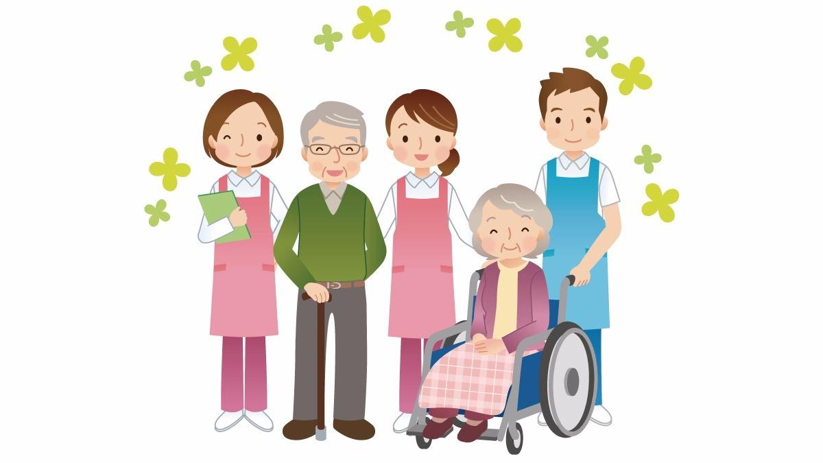 介護老人福祉施設 康寿苑(介護職/ヘルパーの求人)の写真1枚目:笑顔の輪が広がる明るい職場です