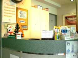 田園歯科クリニックの写真1枚目:当院の受付です。