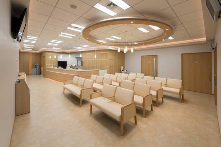 銀座医院(看護師/准看護師の求人)の写真:外来受付・待合室