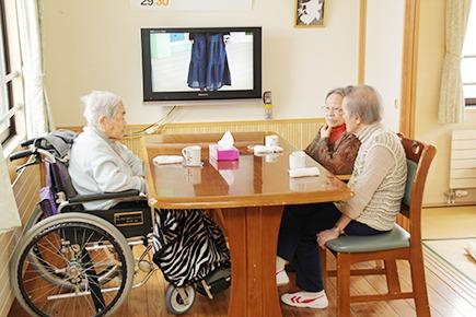 デイサービス 縁(ゆかり)(看護師/准看護師の求人)の写真:その名の通り温かい雰囲気が特徴の施設です