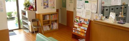 水野クリニック(看護師/准看護師の求人)の写真:待合室は広くて明るいですよ♪