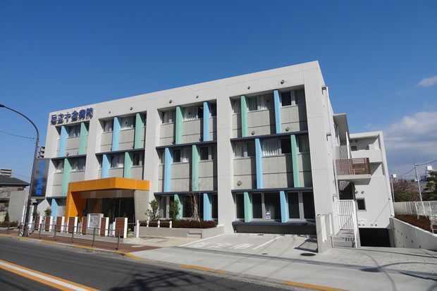 足立十全病院(理学療法士の求人)の写真1枚目:新築移転して8年,綺麗な病院です.