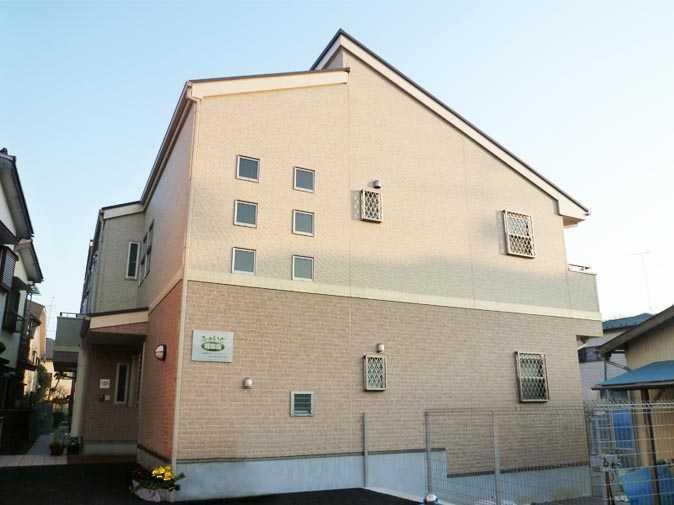 グループホームふぁいと稲田堤(介護職/ヘルパーの求人)の写真1枚目:JR南武線「稲田堤」駅よりすぐの場所で平成22年7月にオープンしたグループホームです