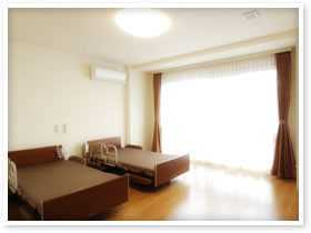 有料老人ホーム サンライズ・ヴィラ瀬谷(介護職/ヘルパーの求人)の写真3枚目:居室も広々としています