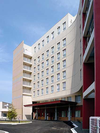 有料老人ホーム シルバーレジデンス孔輪閣(看護師/准看護師の求人)の写真:住宅型90室、介護型70室の大型有料老人ホームです。