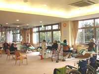 ろうけん青空【介護老人保健施設】(看護師/准看護師の求人)の写真:吉野大地の恵まれた静かな環境のもと支援を行っている介護老人保健施設です