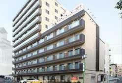 グラード栄東【住宅型有料老人ホーム】(介護職/ヘルパーの求人)の写真1枚目:名古屋の中心街に位置する住宅型有料老人ホームです