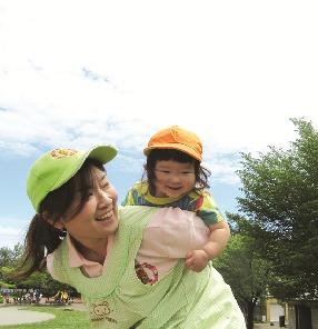 横浜大口雲母保育園の画像
