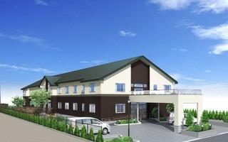 エイジングホーム健寿庵(看護師/准看護師の求人)の写真:2017年6月オープンの施設です