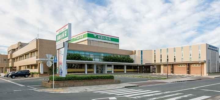 新都市病院の画像