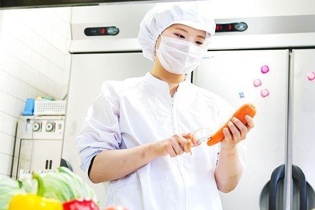名阪食品株式会社 広陵南保育園内の厨房の画像