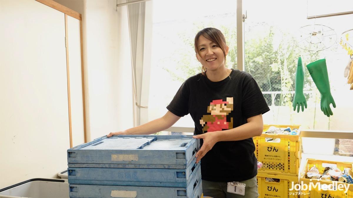 指定障害支援施設イクトスマイム(生活介護)(生活支援員の求人)の写真:スタッフも利用者様も笑顔で毎日働いています!