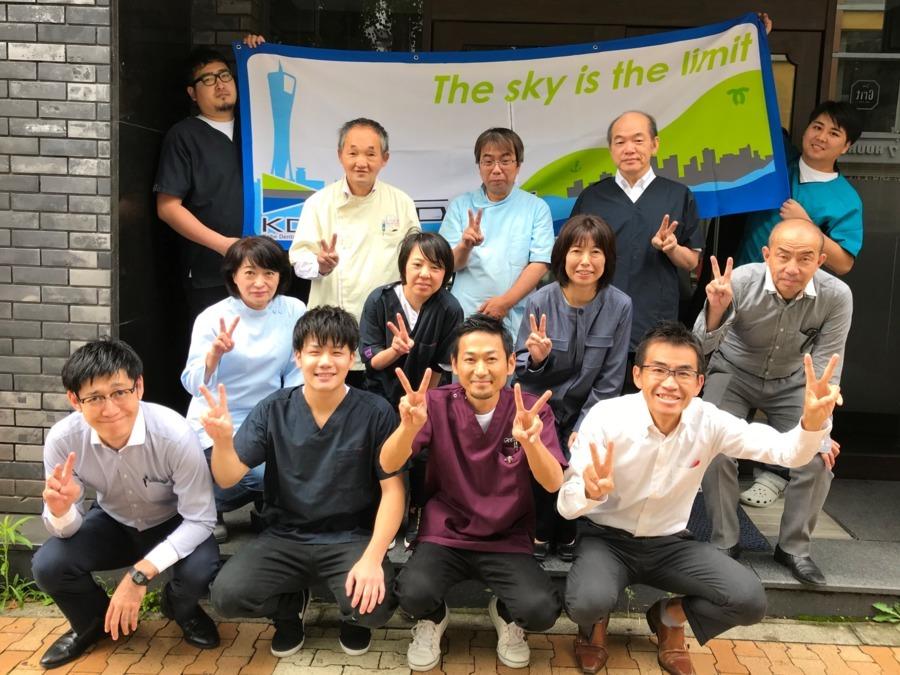 神戸歯研(歯科技工士の求人)の写真:気さくなスタッフが多くアットホームな雰囲気です。
