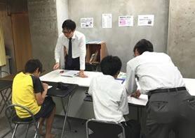 伸栄学習会 妙典校(児童発達支援管理責任者の求人)の写真:学習塾が運営母体の教室です