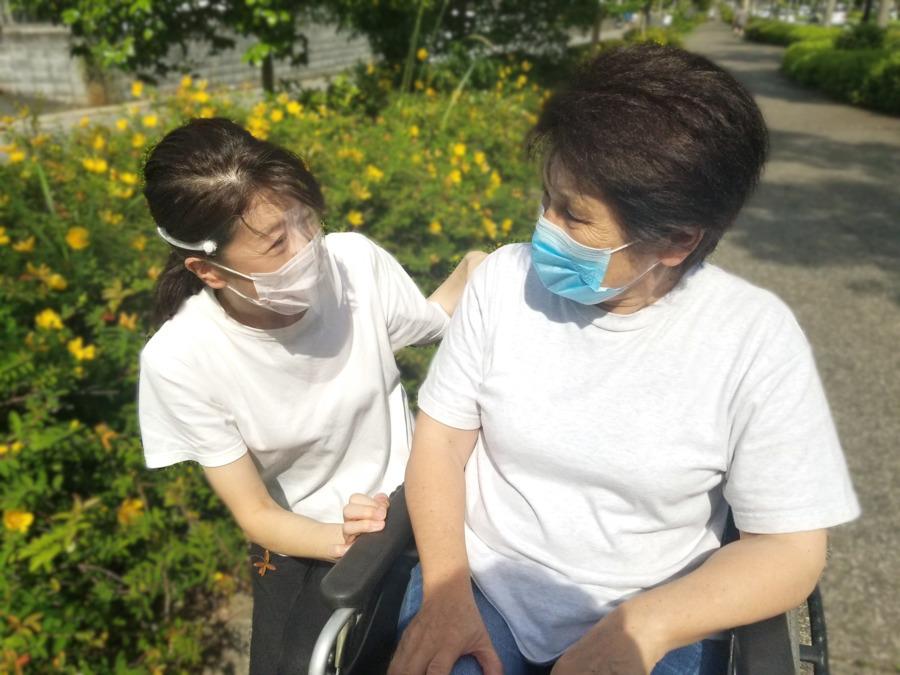ムツミヘルパーステーション(サービス提供責任者の求人)の写真:新型コロナ感染症の予防対策を徹底しています。